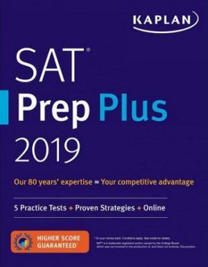Kaplan SAT Prep Plus 2019
