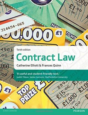 Contract Law Elliot Quinn Pearson 10th Edition