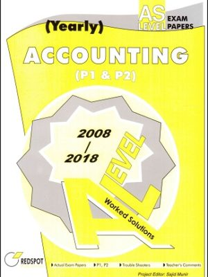 AS Level Accounting Yearly redpsot 2018 2019