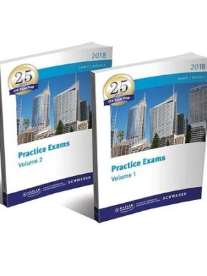Kaplan Schweser CFA Level 2 2018 Practice Exam