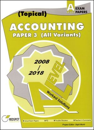 Redspot A level Accounting P3 variant topical
