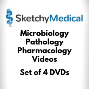 USMLE Step 1 Sketchy 2019 Micro Pharm Path Video DVD