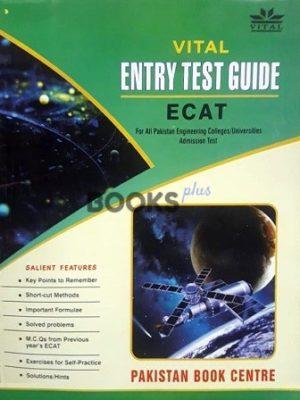 Vital ECAT Entry Test Guide