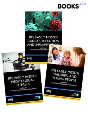 BMJ Easily Missed Series 3 Book Set