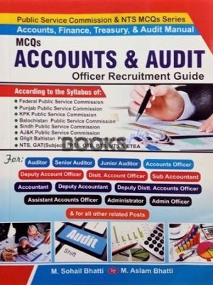 Accounts and Audit MCQs Bhatti Sons