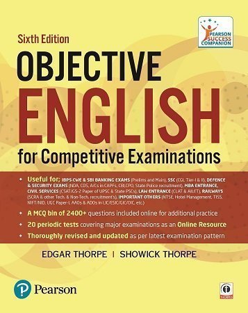 Objective English for Competitive Examinations 6th Edition