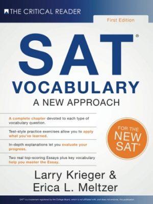 SAT Vocabulary Erica meltzer Kreiger