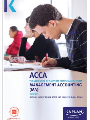 kaplan acca management accounting ma F2 2019 2020 exam kit