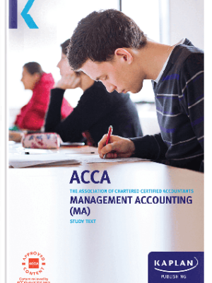 Kaplan ACCA Management Accounting MA F2 Study Text 2019 2020