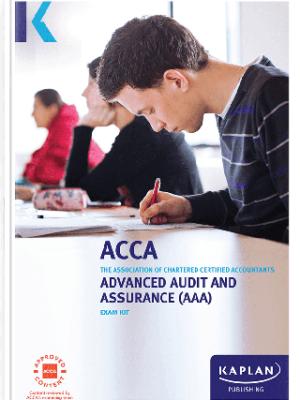 Kaplan ACCA Advanced Audit and Assurance AAA P7 Exam Kit 2019 2020