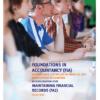 Kaplan FIA Maintaining Financial Records FA2 Study Text 2019 2020