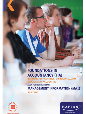 Kaplan FIA Management Information MA1 Study Text 2019 2020