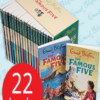 Famous five Set of 22 books (Box Not Included)